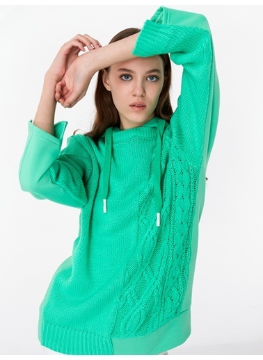 Twist Triko Yeşil
